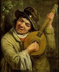 ein lautenspieler by adriaan van der burg