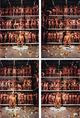 my america performance hard to acclimate november seattle art museum 4 works by zhang huan