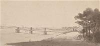 trinity chain bridge, newhaven) by henrietta anne fortescue