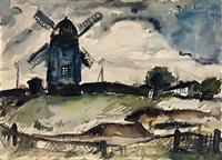 alte dorfmühle by paul martin leonhardt