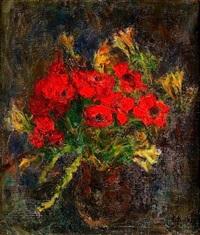 bouquet de fleurs by eugène ebiche
