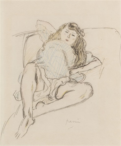 liegende by jules pascin