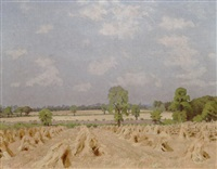 cornfield, toppersfield by allan gwynne-jones