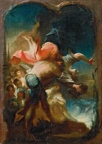 die marter der heiligen symphorosa by johann wolfgang baumgartner