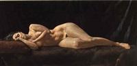 mujer recostada by juan lascano