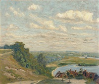 die havel bei havelberg by paul lehmann-brauns