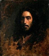 portrait of a man by gregg kreutz