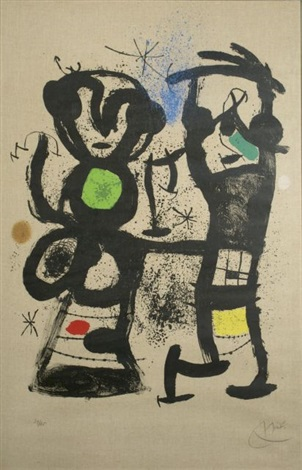 la conversation by joan miró