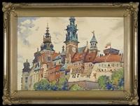 wawel castle by henryk uziemblo