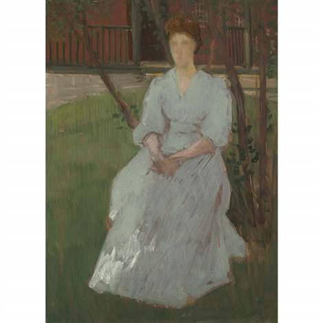 anna the artists wife by julian alden weir
