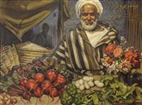 marchand de fleurs by louis john endres