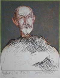 portrait of tony o'malley by brian bourke
