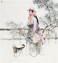 格桑花 by jiang yixun