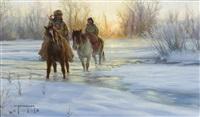 frozen sunrise by robert duncan