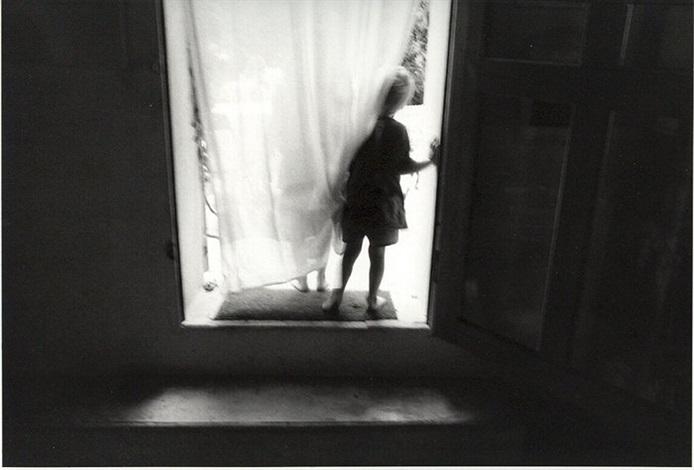 Boys in doorway, Fontvieille by Eva Rubinstein on artnet