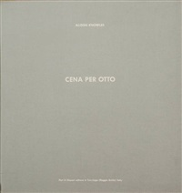 cena per otto (portfolio of 8) by alison knowles