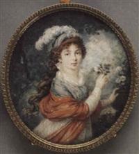 grand duchess anna feodorovna, née princess juliane von saxe-coburg-saalfeld by augustin ritt