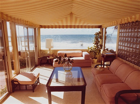 sea view from living room by david hockney