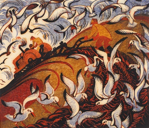 wings by sybil andrews