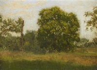in the country, summer by thomas eakins