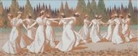 la danse des arlésiennes by léo lelee