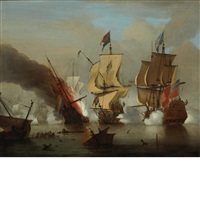 the battle of texel by peter monamy