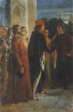 scena storica by federico faruffini