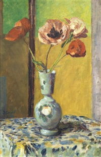 still life with poppies by duncan grant
