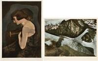 studie (+ mot våren; 2 works) by john olav riise