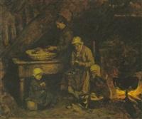 la préparation du souper by edouard d' apvril