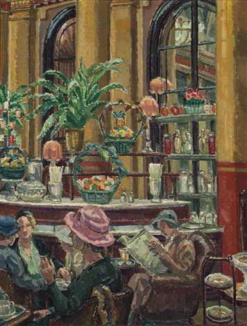 the café by harold harvey