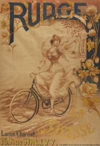 la déesse, cycles rudge by p(eter) a(lfred) gross