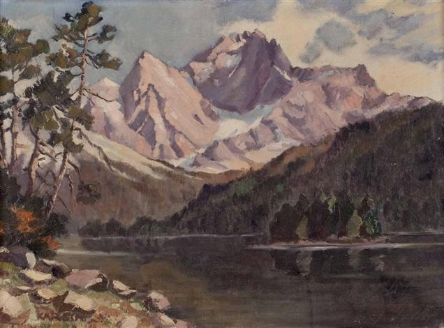 hintersee by rudolf emanuel karsch