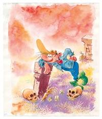 pierre tombal, des décédés et des dés... by marc hardy