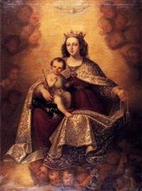 virgen del rosario by augusto manuel de quesada