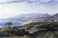 vue de sicile by karoly miksa reissmann