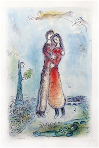 la joie by marc chagall