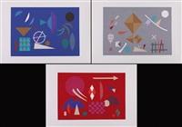 senza titolo (portfolio of 3) by otto hofmann