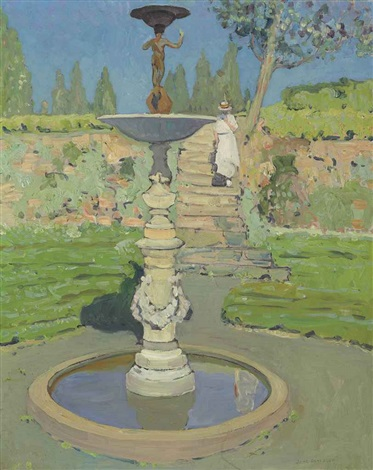 vedder fountain sunlight by jane peterson