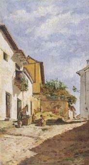 lavandera by manuel arroyo y lorenzo