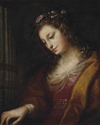 saint cecilia by carlo francesco nuvolone