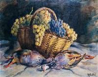 aves y uvas by francesc abello roca