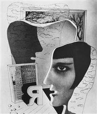 untitled (photocollage) by herbert bayer