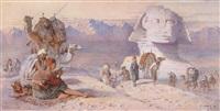 die sphinx in gizeh by joseph austin benwell
