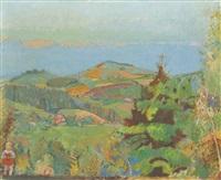 emmentaler landschaft (lueg) by cuno amiet