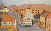 syntagma square - the greek parliament by minos argyrakis