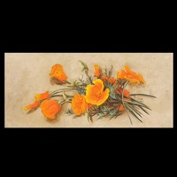 california poppies by lillie l. kendall