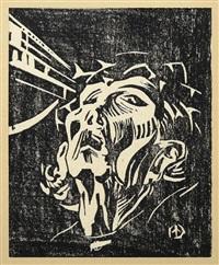 ecce homo (mappe mit zehn) by werner drewes