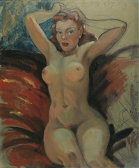 nude pin-up by merlin glen enabnit