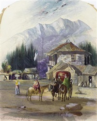 view of chile by william cross buchanan